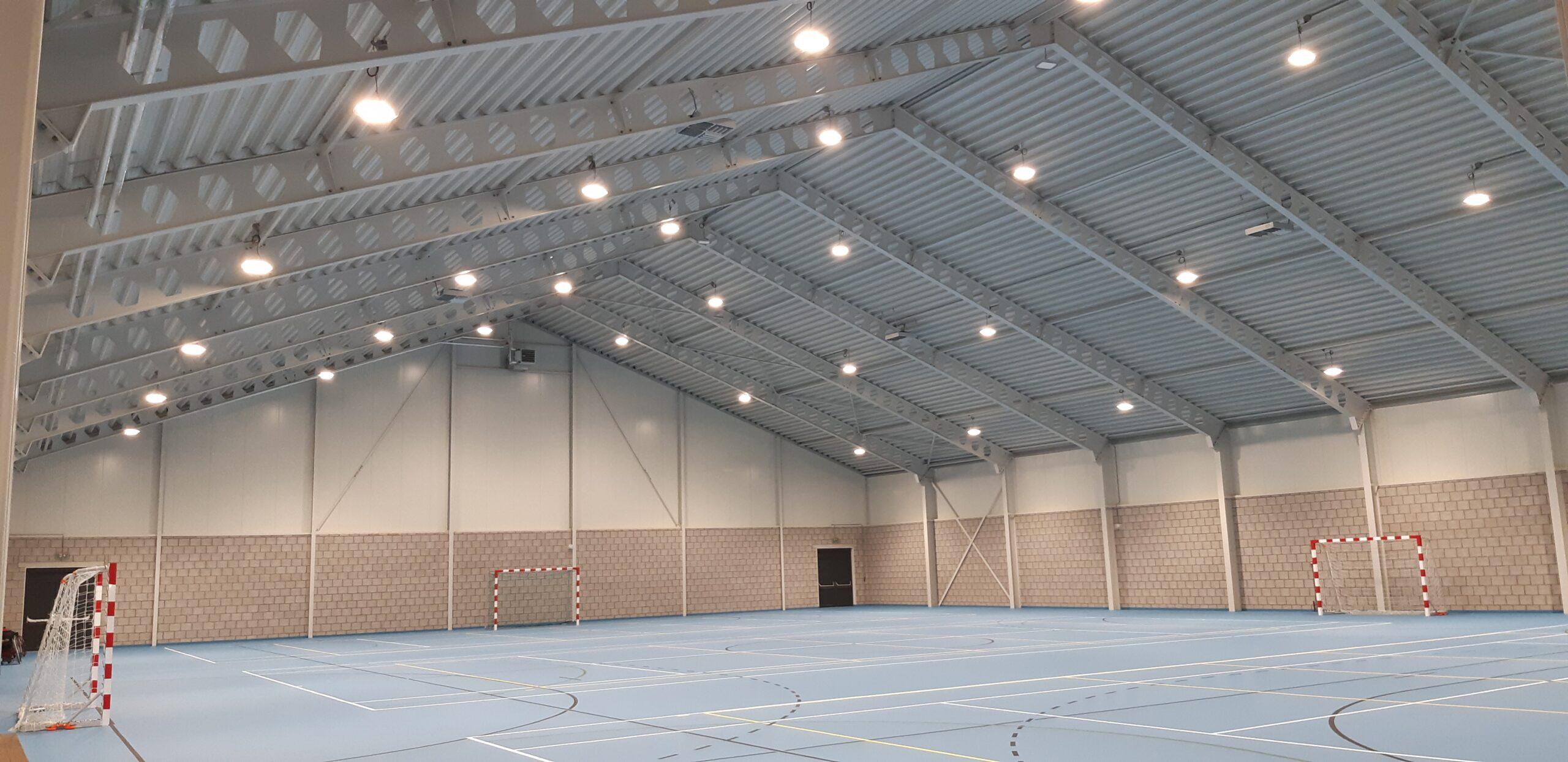 Verlichting sporthal
